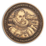 Rudolf II. Geocoin - Antique Gold
