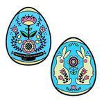 Velikonoční vajíčko geocoin - modré
