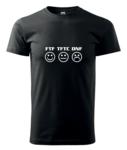 Triko FTF-TFTC-DNF vel. XL černé