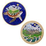 Hidden Creatures Geocoin a Travel Tag