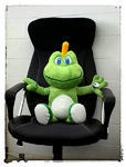 Signal the frog Plush XL