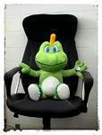 Signal the Frog XL - geocaching maskot