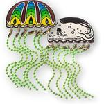 Jellyfish Geocoin - Green