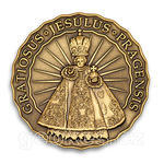 Jesulus Pragensis - Prague Geocoin 2012 - Antique Bronze