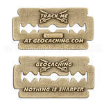 Nothing is Sharper Geocoin - Antique Bronze