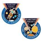 Planetary Pursuit Geocoin + travel tag