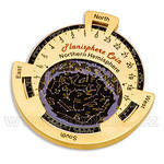 Planisphere geocoin