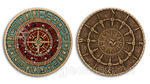Time and Space Geocoin - bronz