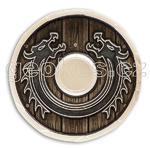 Viking Dragon Shield Geocoin - Skidbladnir LE