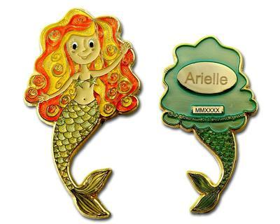 Mermaid Geocoin - Arielle