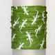 Funční šátek Ještěrky - olive green - 1/2