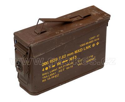 Ammobox 30 hnědý