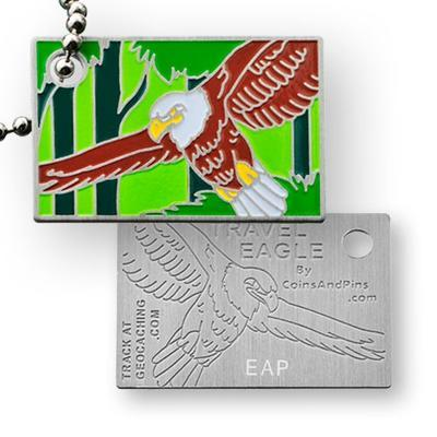 Travel Eagle Travel Tag