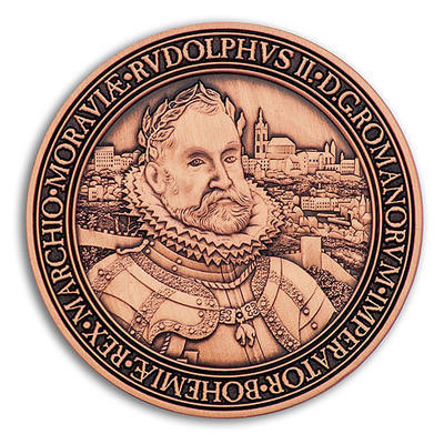 Rudolf II. Geocoin - Antique Copper - 1