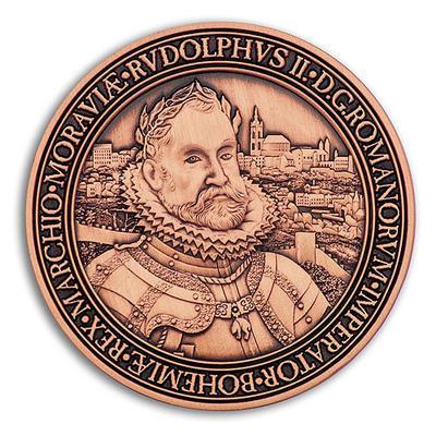 Rudolf II. Geocoin - Antique Copper - 1
