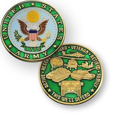Army Geocoin