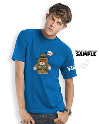 Megaevent t-shirt Brugse Beer V - blue trackable