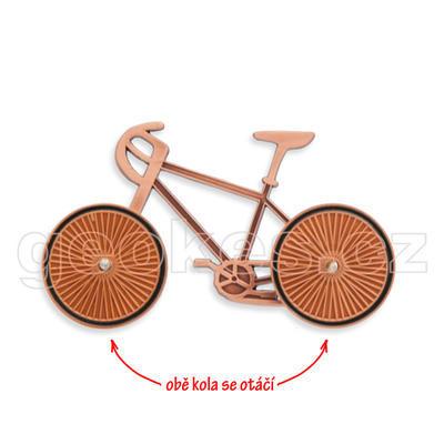 Cyklistický geocoin - antique copper - 1