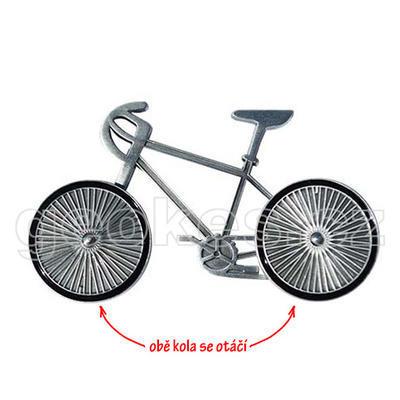 Cyklistický geocoin - antique silver - 1