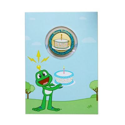 Happy Birthday Geocoin s přáním - 1