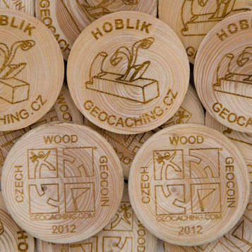 Wooden Coin 200 pcs - 1