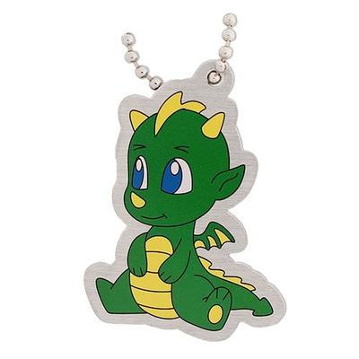 Drake the Dragon Travel Tag