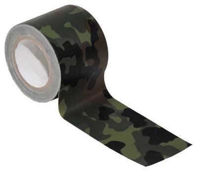 Lepicí maskovací PE páska 10 m - camo