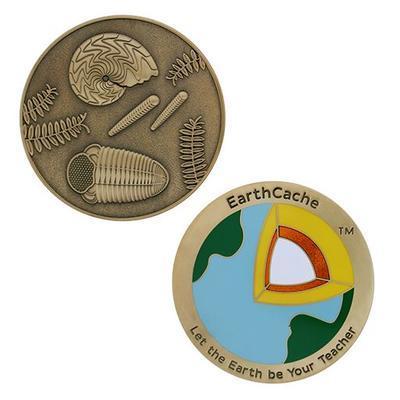 EarthCache™ Geocoin a Travel Tag - 1