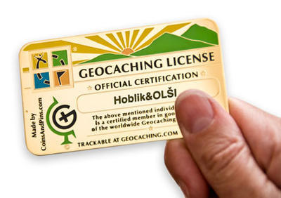 Geocaching Licence - 1