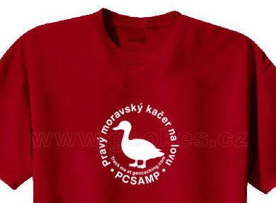 Trackable triko - Pravý moravský kačer na lovu - 1