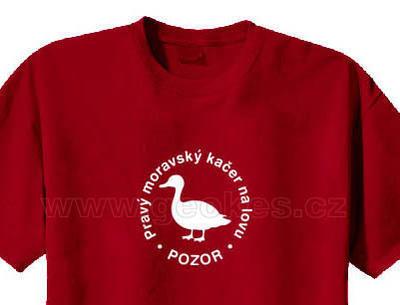 Triko - Pravý moravský kačer na lovu - 1