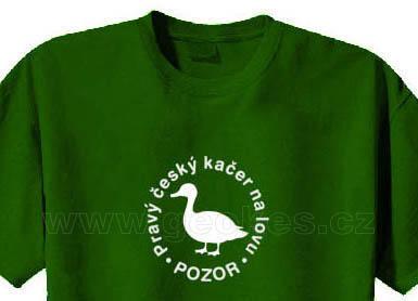 Triko - Pravý český kačer na lovu - 1