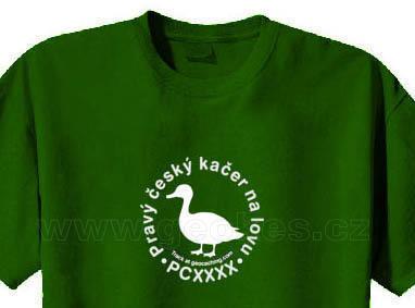 Trackable triko - Pravý český kačer na lovu - 1