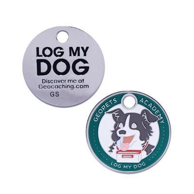 Geopets Academy - Log My Dog - Travel tag