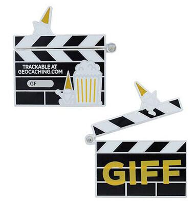 2021 GIFF Geocoin and Companion Tag Set - 1