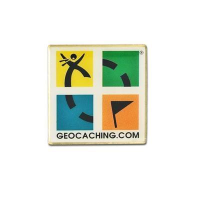Odznak s logem Geocaching