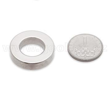 Magnet neodymový prstenec 27x5 mm
