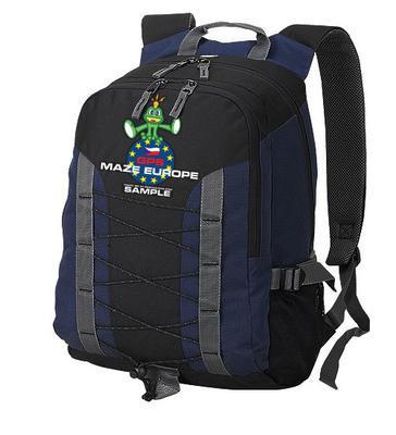 Trackovatelný batoh - GPS Maze 2017 - modrý