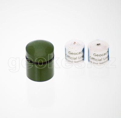 Nano cache zelená- komplet + 2 x log