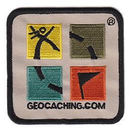 Nášivka s logem Geocaching
