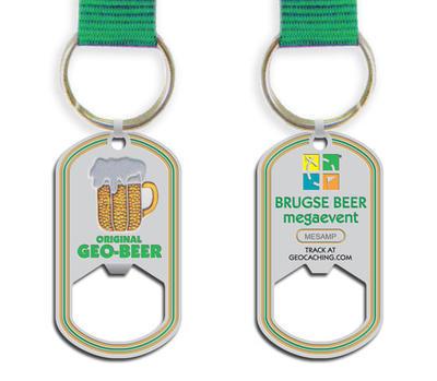 Pivní geocoin - trackovatelný otvírák na lahve - 1