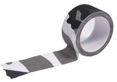 Lepicí maskovací textilní páska 10 m - urban
