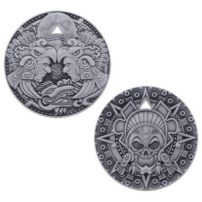 Aztec Pirate Geocoin