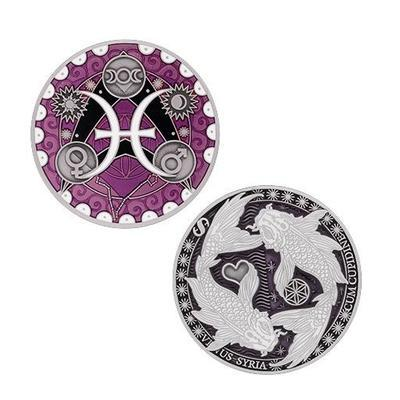 Ryby - Pisces Geocoin