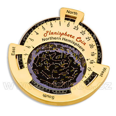 Planisphere geocoin - 1