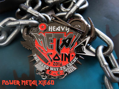 Heavy Metal Geocoin - 1