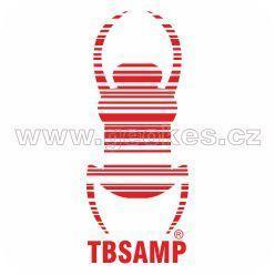 Travel Bug - samolepka červená 17 cm
