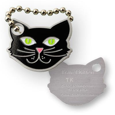 Travel Kitten Travel Tag