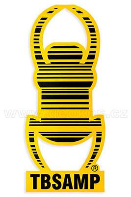Travel Bug - samolepka reflexní 17 cm