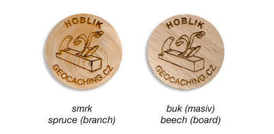 Wooden Coin 200 pcs - 2